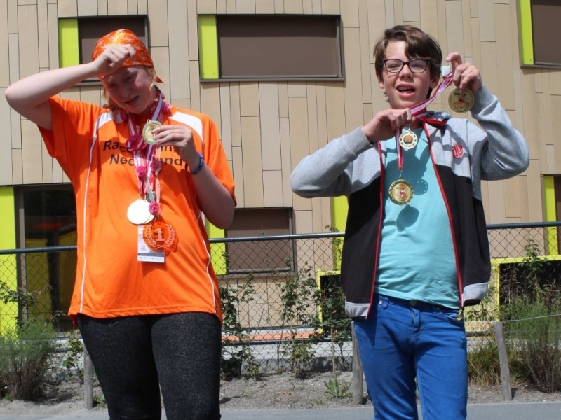 Internationale Race Run Kampioenen!